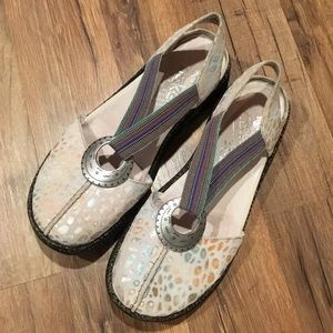 "Womens Rieker ""Daisy"" Sandal, Size 37, EUC"